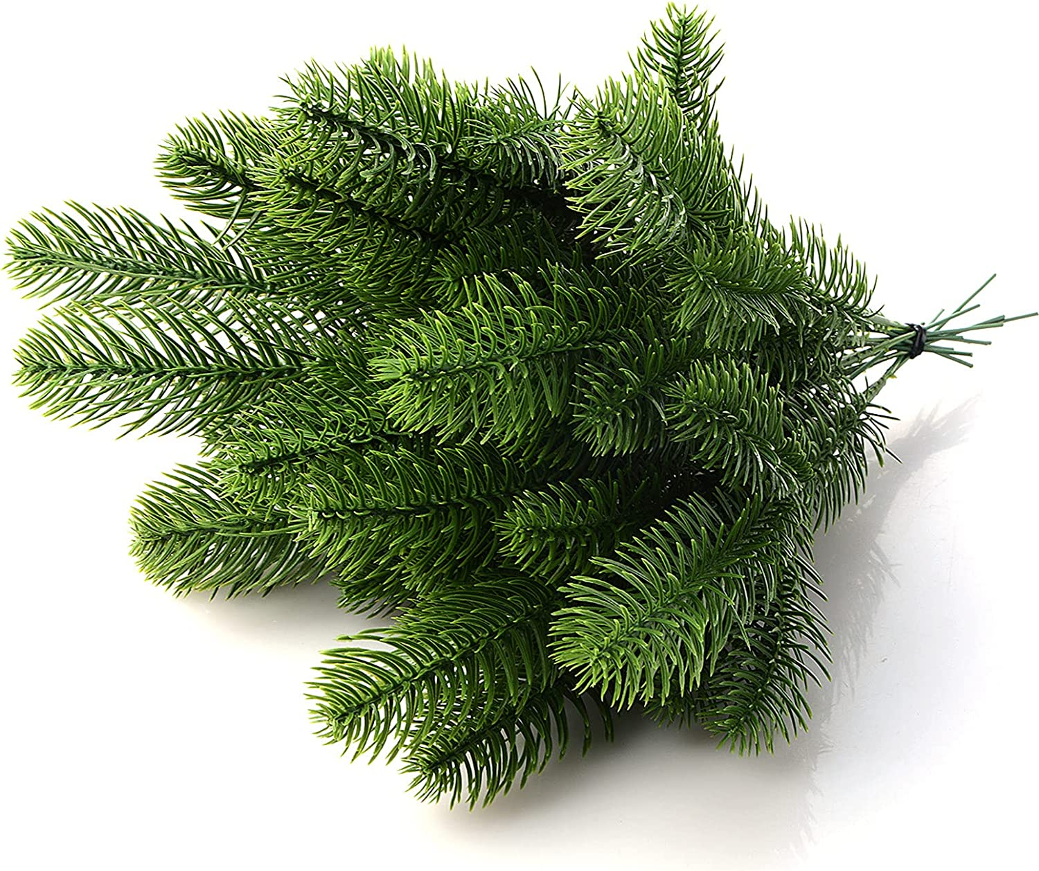 Max 42% OFF BELUAPI 50Pcs High quality new Artificial Pine Needles Christmas Green Branches