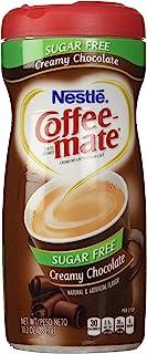 Nestle Coffee Mate Sugar Free Powdered Creamer Chocolate, 10.2 OZ (Pack of 6
