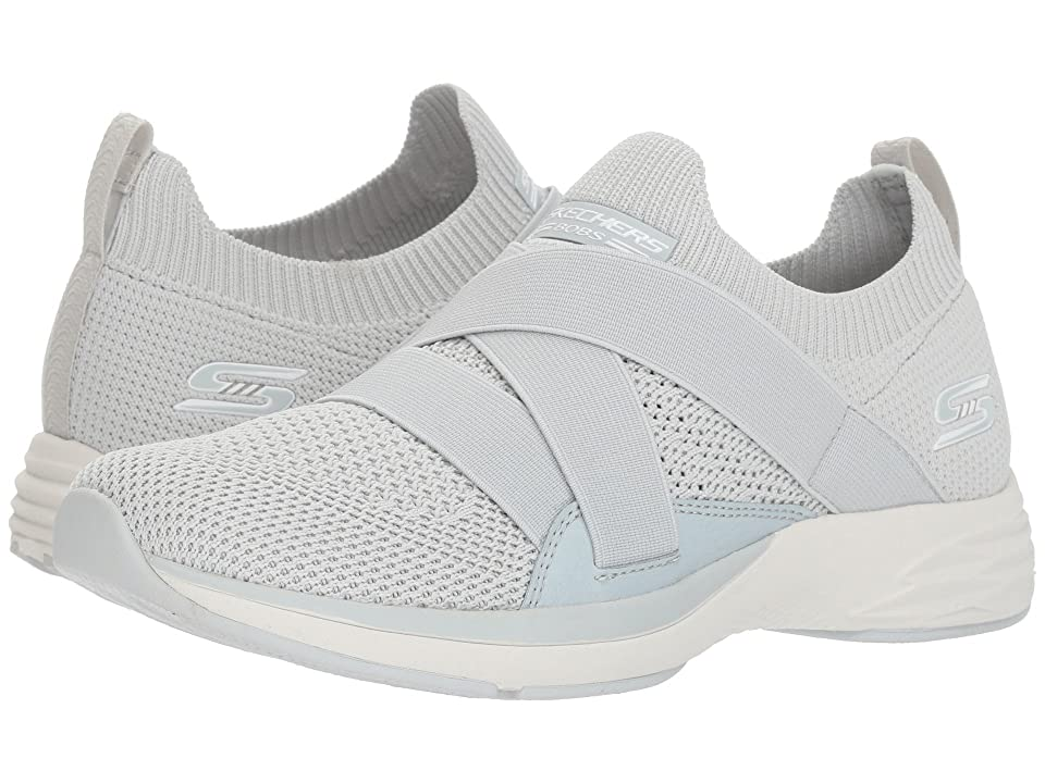 BOBS from SKECHERS Bobs Clique (Light Gray) Women