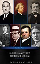 AMERICAN AUTHORS Boxed Set Serie 1: Mark Twain, Edgar Allan Poe, , H.P Lovecraft,Robert E. Howard...