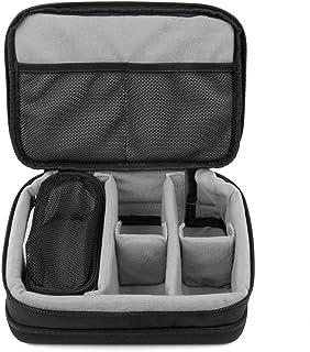 DURAGADGET Padded Black & Grey Storage/Carry Case with Adjustable Dividers (Clippers NIET inbegrepen) - Compatibel met Phi...