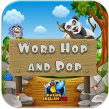 Word Hop N Pop - ABC, Phonics and English Word Games