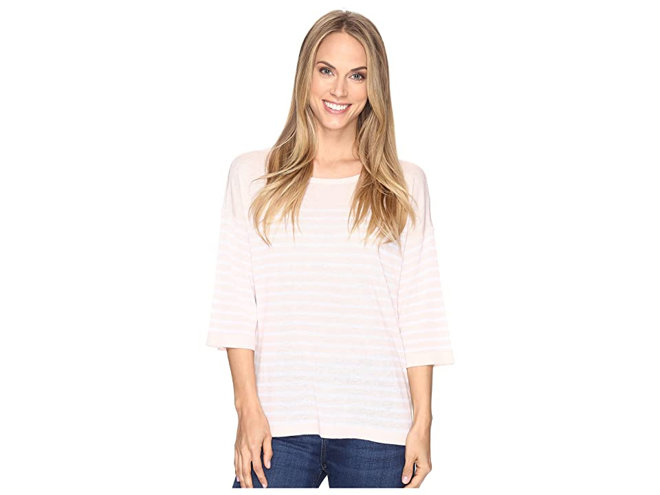 NYDJ Serra Sweater (Macaron Optic White) Women