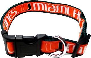 COLLEGE MIAMI HURRICANES Dog Collar, Small