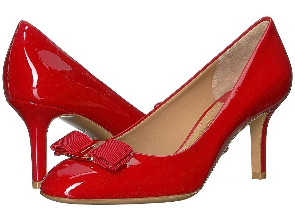 Salvatore Ferragamo Erice 70 (Lipstick) High Heels