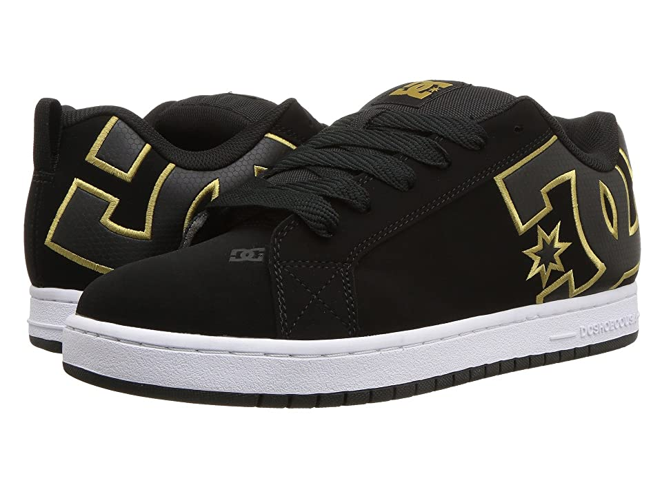 DC Court Graffik SE (Black/Gold 2) Men