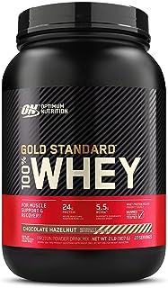 Optimum Nutrition Gold Standard 100% Whey Protein Powder, Chocolate Hazelnut, 2 Pound (Packaging May Vary)