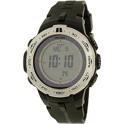 952b4ebc2272 Casio PROTREK Slim Line Series Solar Multiband 6 Triple Sensor Ver.3 Men's  Watch PRW