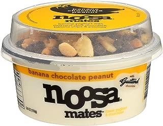 NOOSA Banana Chocolate Peanut Yogurt Mates, 5.6 OZ
