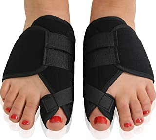 Dr. Frederick's Original Nighttime Bunion Splints - 2 Double-Stitched Velcro Bunion Correctors - Bunion Relief for Bedtime - for Men & Women