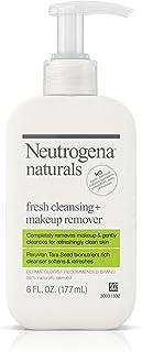 Neutrogena Naturals Fresh Cleansing + Makeup Remover, 6 fl. oz  (Pack of 2)