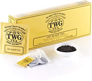 TWG 1837 Black Teabags, 37.5 g