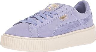 Puma Women's Suede Platform Mono Satin Ankle-High Fashion Sneaker