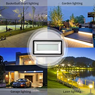 500W LED Floodlight Outdoor Waterproof Crystal Ball Decorative Lights for Garden, Patio, Yard, Home, Chrismas Tree, Partie...