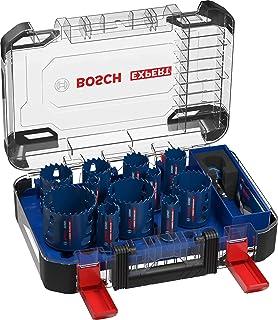 Bosch Professional 14-delar Expert Tough Material hålsågset (för Trä med metall, Ø 20-76 mm, tillbehör Borrhammare)