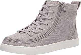 BILLY Footwear Classic Lace High Chambray Grey Jersey