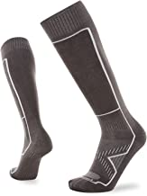 Le Bent Le Sock Snow Ultra Light | Over-The-Calf Ultra Lightweight Merino Wool Skiing, Snowboarding Socks