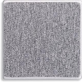 RMP Stamping Blanks, 1 Inch Square, Aluminum 0.063 Inch (14 Ga.) - 50 Pack