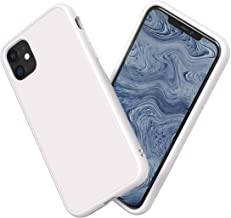 RhinoShield Case for iPhone 11 SolidSuit - Shock Absorbent Slim Design Protective Cover with Premium Matte Finish 3.5M/11ft Drop Protection - Classic White