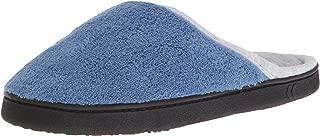 Women's Terry Wide Width Slip On Clog Slipper for Indoor/Outdoor Comfort