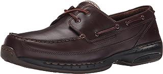 Dunham Men's Shoreline Boat Shoe, Dark Brown, 52 4E EU