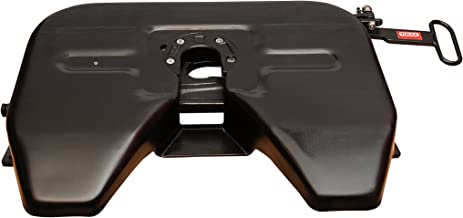 Fifth Wheel Hitch [Extra Sturdy] Plate Formed Steel 5th for Trailer Semitrailers Pickup Trucks Up to 27000 lbs Drawbar Capacity Fits Ford Dodge GMC Toyota Toy Haulers Car Carriers RVs Campers