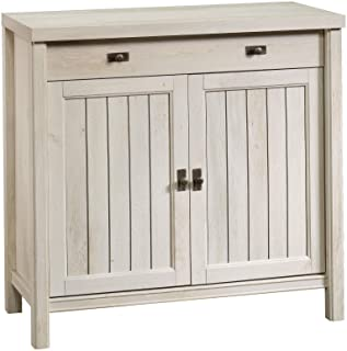 Sauder Costa Library Base, Chalked Chestnut finish