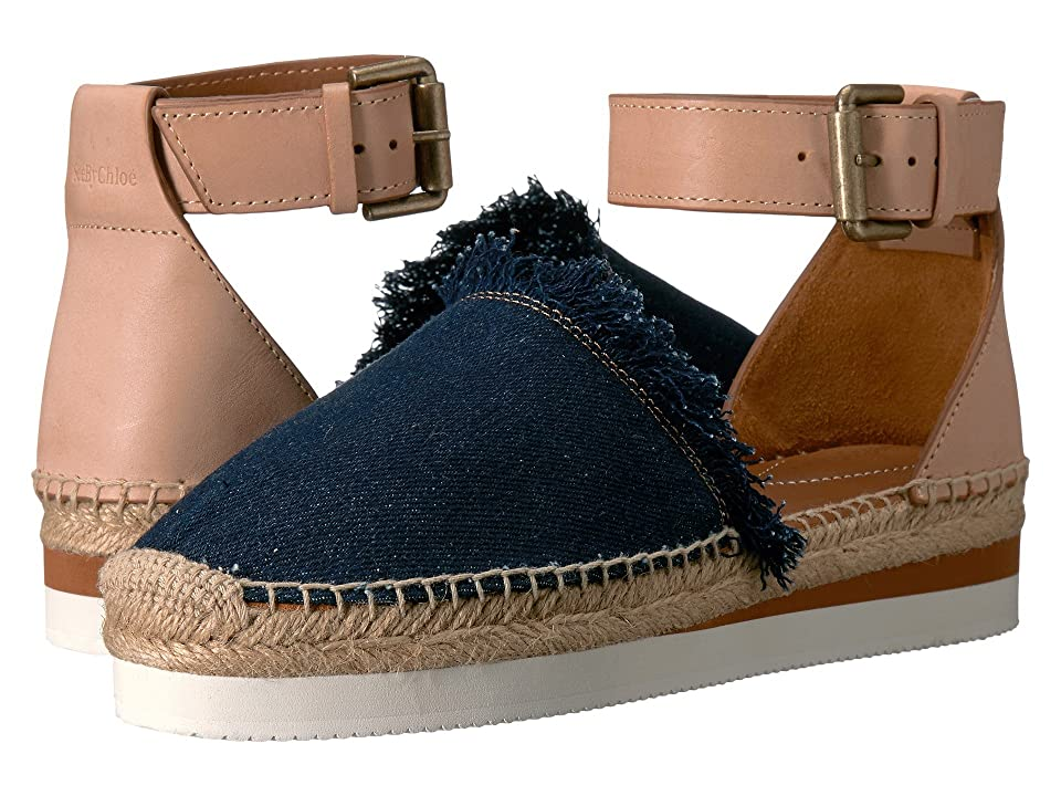 See by Chloe SB28151 (Navy/Beige) Women
