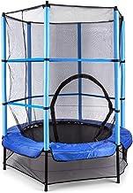 Klarfit Rocketkid trampoline - tuintrampoline, trampoline voor buiten, 140 cm doorsnee, veiligheidsnet, bungeekoordophangi...
