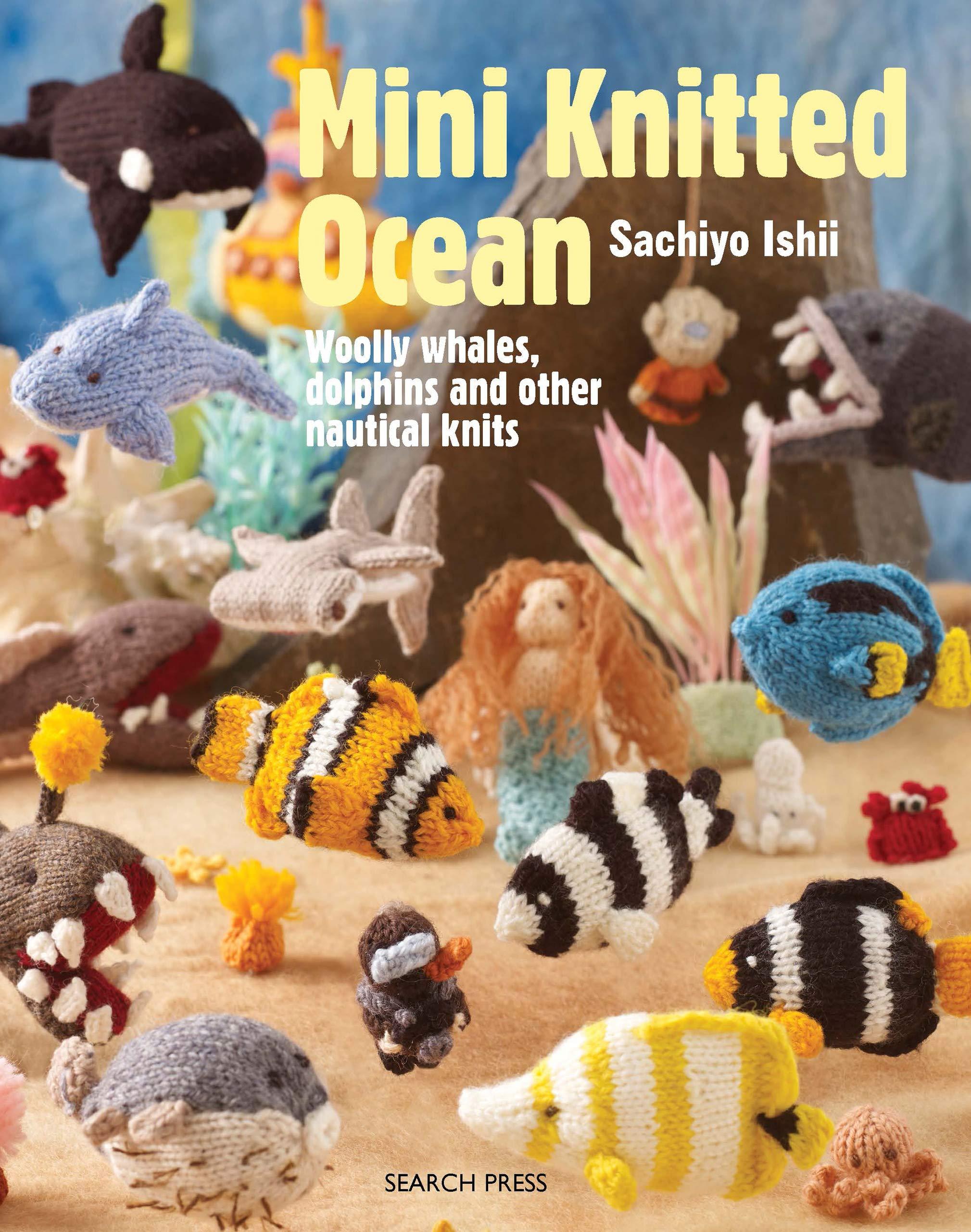 Amigurumi Crochet Sea Creature Animal Toy Free Patterns | 2560x2019