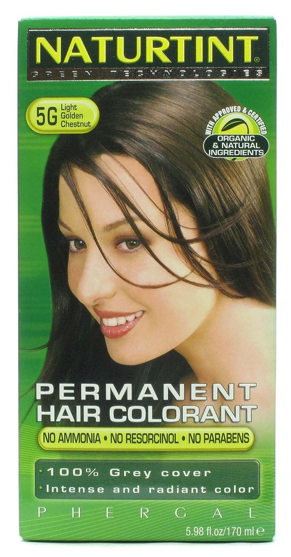 Max 47% OFF Naturtint 5G Permanent Light Golden Free shipping New Chestnut Haircolor 4.5 Kit