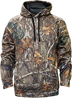 Staghorn Mens Polyester Camo Hoodie