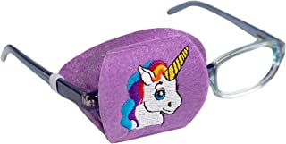 Eye Patch - Right Coverage Child Unicorn Eye Glass Eye Patch by Patch Pals
