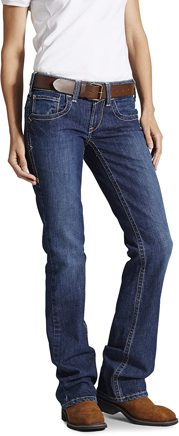 ARIAT Women's Flame Resistant Jean price Latest item Bootcut Mid Rise