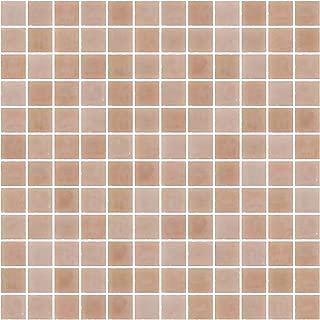 Susan Jablon Mosaics - 1 Inch Opaque Blush Pink Glass Tile