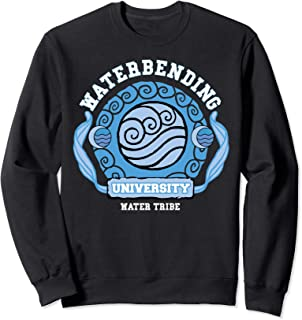 Water Bending University Logo Water Nation  Sweatshirt