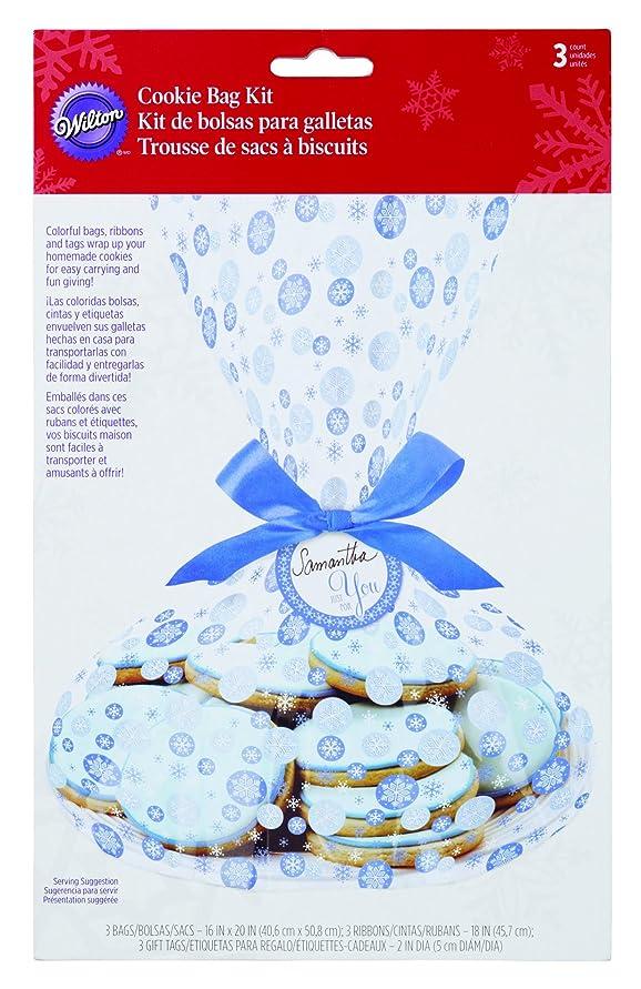 不倫進行中日没Cookie Bag Kit Makes 3-Snowfall (並行輸入品)