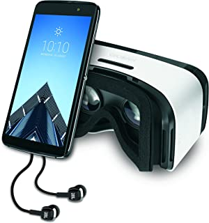 Alcatel IDOL 4S Unlocked 4G LTE Android Smartphone with VR Goggles and JBL Headset -32GB - (AT&T/T-Mobile)
