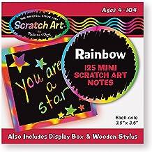 Melissa & Doug- Box of Rainbow Mini Tarjetas para Dibujar, Multicolor (15945)