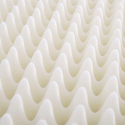 Slumber Solutions Highloft Supreme 4-inch Memory Foam Mattress Topper Sleep Mask & Comfortable Pair of Corded Earplugs Included (FULL)