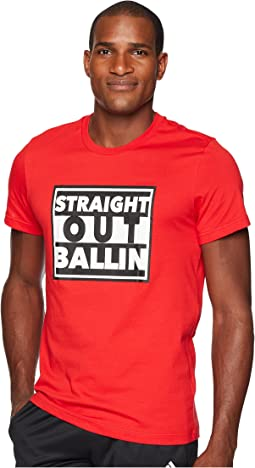 Straight Out Ballin Tee