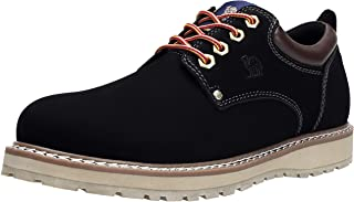 Best mens black leather work boots Reviews