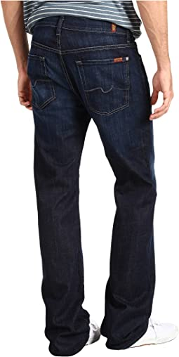 "7 For All Mankind Austyn Relaxed Straight 36"" Long in Los Angeles Dark"