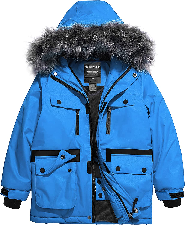 Wantdo Boy's Waterproof Ski Washington Very popular! Mall Snowboarding Coat Jackets Windproof