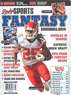 Lindy's Sports Fantasy Football 2014 Volume 14 Jamaal Charles Cover