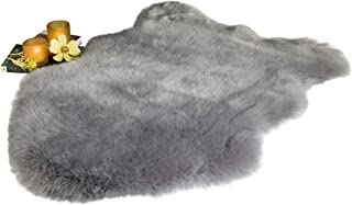 Best faux fur rug gray Reviews