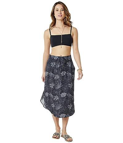 Carve Designs Peyton Skirt (Black Wailuku) Women