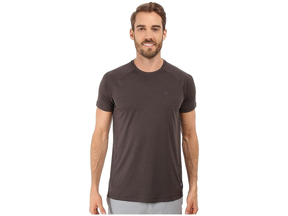 Fjallraven Abisko Vent T-Shirt (Dark Grey) Men