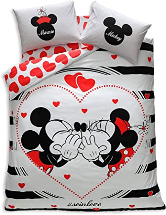 Lenzuola Letto Matrimoniale Disney.Amazon It Lenzuola Matrimoniali Disney Casa E Cucina