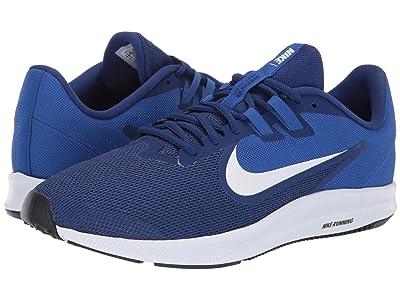 Nike Downshifter 9 (Deep Royal Blue/White/Game Royal/Black) Men
